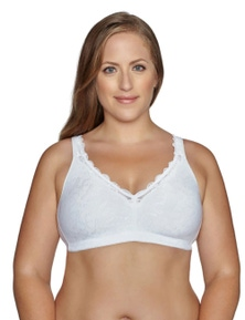Exquisite Form Back Close Bra With Comfort Lining
