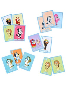 MOOSE Bluey 5-in-1 Card Game