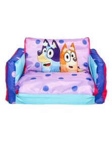 MOOSE Bluey Inflatable Kids 2 in 1 Mini Sofa 18m+