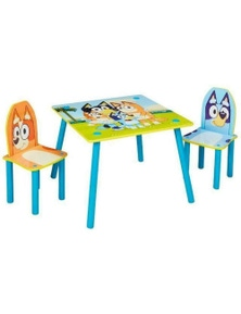 Bluey Wooden Kids Table and Chair 18M+