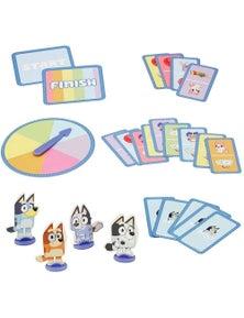 Bluey Hopscotch Race Card Game