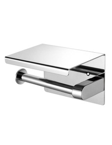 Silver Colour Stainless Steel One Toilet Paper Holder with Mirror Surface