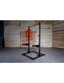 Rugged Series Half Rack (w Jcups/Spotter Arms)