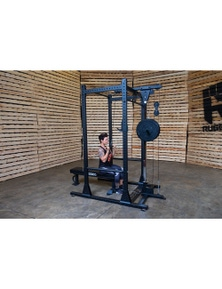 Optional Lat Attachment for Y100 Rugged Series Full Rack (Rack Not Included)