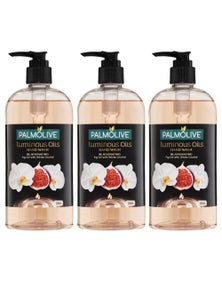 Palmolive 500ml Luminous Oil Hand WashRejuvenating 3PK