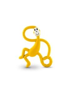 Matchstick Monkey Dancing Monkey Teether - Yellow