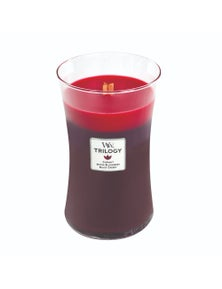 WoodWick Sun Ripened Berries Trilogy Candle