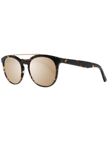 Web Sunglasses WE0146 52G 52 Unisex Brown