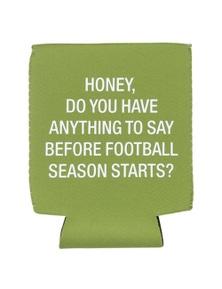 Say What Stubby Holder - Football Season