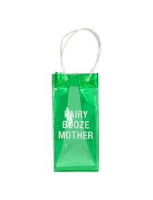 Say What PVC Wine Tote - Fairy Booze Mum