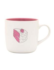Recipease Cake Mug - Pink Champagne