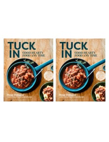Tuck In Good Hearty Food Any Time Recipe Book 2PK
