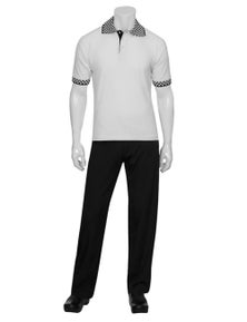 Chef Works Traditional White Polo Shirt