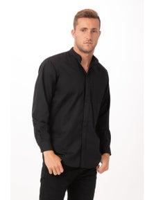 Chef Works Banded Collar Shirt Men's