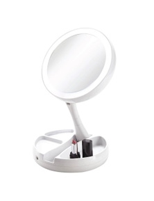 Vivitar Simply Beautiful Fold-Away Double Sided Vanity Mirror