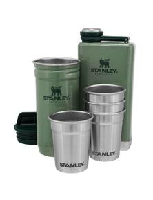 Stanley Pre-Party Shot Glass & Flask Set