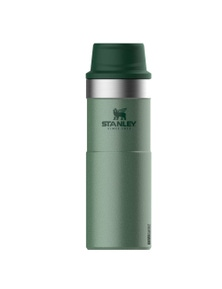 Stanley Classic 473ml Insulated Green Trigger Action Travel Mug