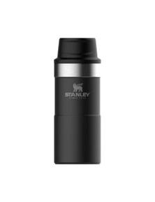 Stanley Classic 350Ml Trigger Action Travel Mug - Black