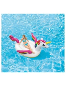 Intex 251cm Mega Unicorn Island Inflatable Toy Ride-on