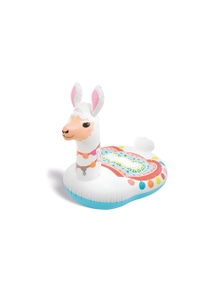 Intex 112cm Cute Llama Inflatable Ride-On