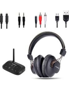 Avantree Wireless Headphones for TV w/ Bluetooth Transmitter
