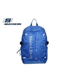 Skechers Santa Monica 2 Section Backpack w Laptop Pocket Travel Bag - Blue