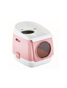 Bargene Pakeway Tomcat Cat Litter Box Fully Enclosed Kitty Tray Toilet Odor Control Basin