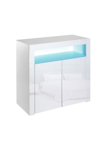 Levede White Cabinet Storage Sideboard
