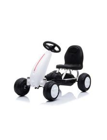 Pedal Ride On Go Kart 18 Months+ - White