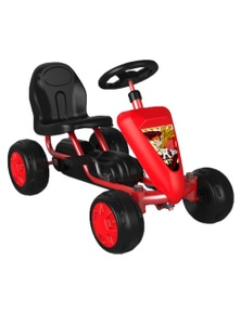 Pedal Ride On Go Kart 18 Months+ - Red