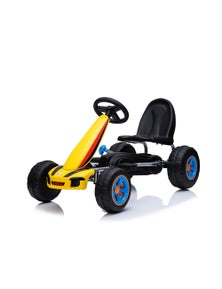 Pedal Ride On Go Kart 3 Years+ - Yellow