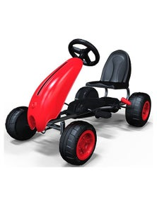 Pedal Ride On Go Kart 3 Years+ - Red