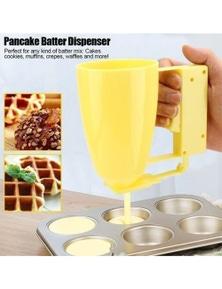 Batter Dispenser Pancakes Waffles Donut Doughnut Muffin Crepe Handheld Tool