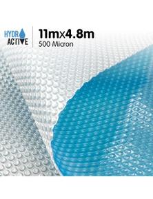 HydroActive 500 Micron Solar Swimming Pool Cover - 11m x 4.8m