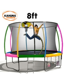 Kahuna Classic 6ft Trampoline with Basketball Set