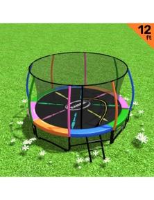 Kahuna 12ft Trampoline Outdoor Spring Pad Mat Net
