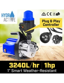 HydroActive 800w Weatherised Stainless Auto Water Pump