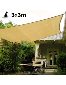 Wallaroo Square Shade Sail 3m x 3m