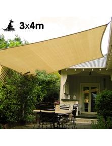 Wallaroo Rectangular Shade Sail 3m x 4m