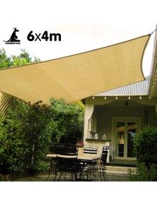 Wallaroo Rectangular Shade Sail 6m x 4m