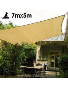 Wallaroo Rectangular Shade Sail 7m x 5m