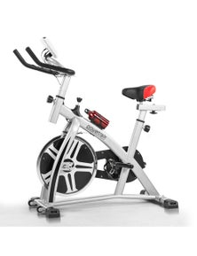 PowerTrain Heavy Flywheel Exercise Spin Bike
