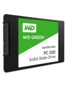 Western Digital SSD Green, 2.5 Form Factor, SATA Interface, 240GB
