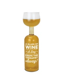 BigMouth The Wine Bottle Glass - Glass a Day