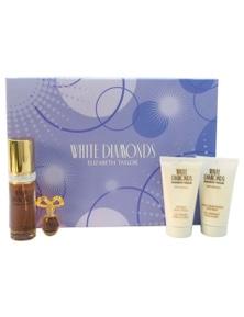 White Diamonds 4Pc by Elizabeth Taylor for Female (50ML) Eau de Toilette - GIFT SET