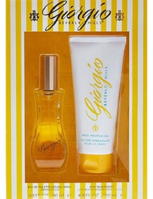 Giorgio Yellow 2Pc by Giorgio Beverly Hills for Female (90ML) Eau de Toilette - GIFT SET