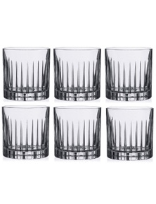 RCR Timeless Crystal Liquor Glasses 360ml - Set of 6