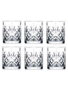 RCR Melodia Crystal Liquor Glasses 230ml - Set Of 6