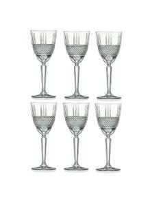 RCR Brilliante Red Wine Glasses 290ml - Set Of 6
