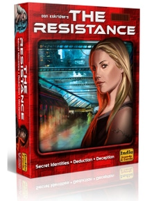 The Resistance 3rd Edition Board Game Family Party Gift AUS STOCK